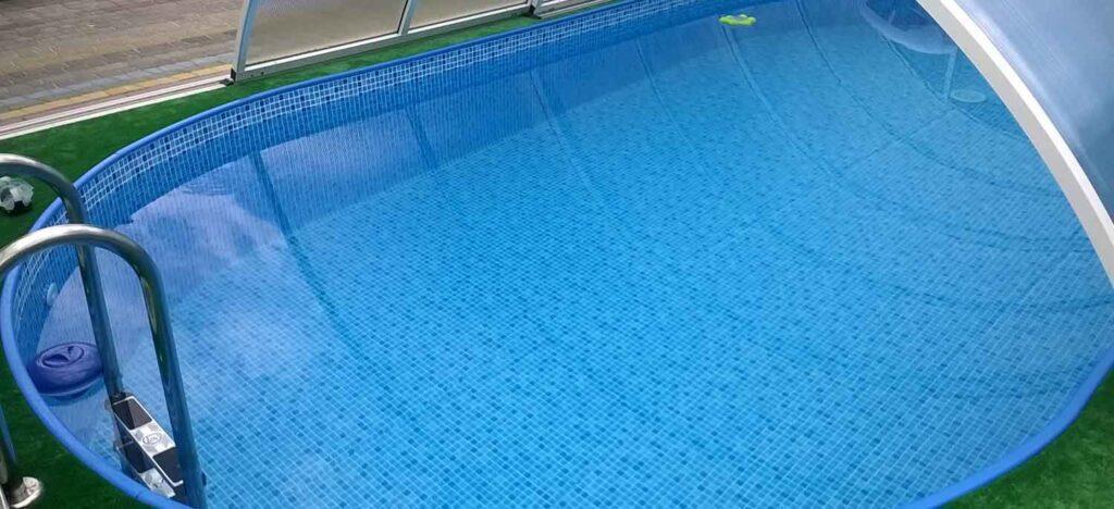 каркасний басейн під ключ